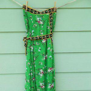 Avenue Design Studio - Maxi Wrap Skirt - Floral